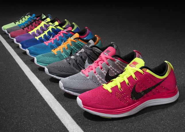 Nike Flyknit Lunar1+ bėgimo bateliai